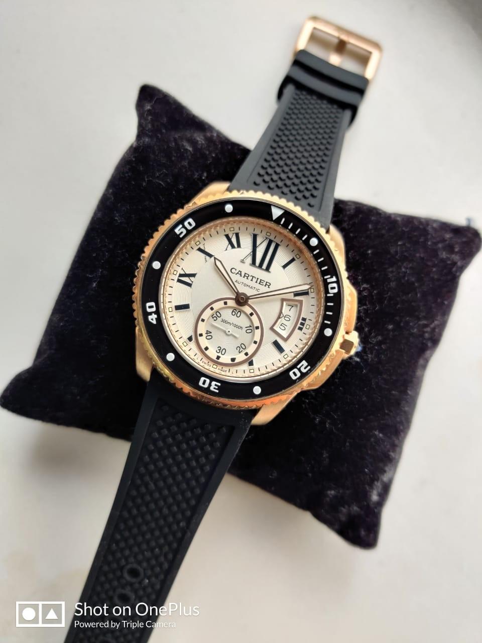 Réplica de Relógio Catier Calibre Diver