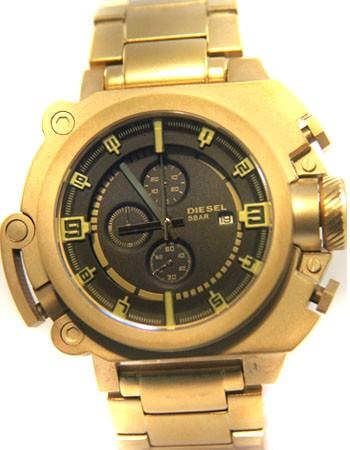 Relógio Réplica Diesel Batman Dourado Black