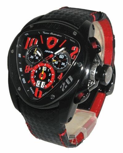 Relógio Réplica Lamborghini Speed Link Black Edition