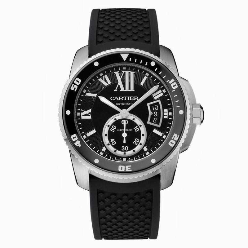 Relógio Réplica Cartier Calibre Diver Black
