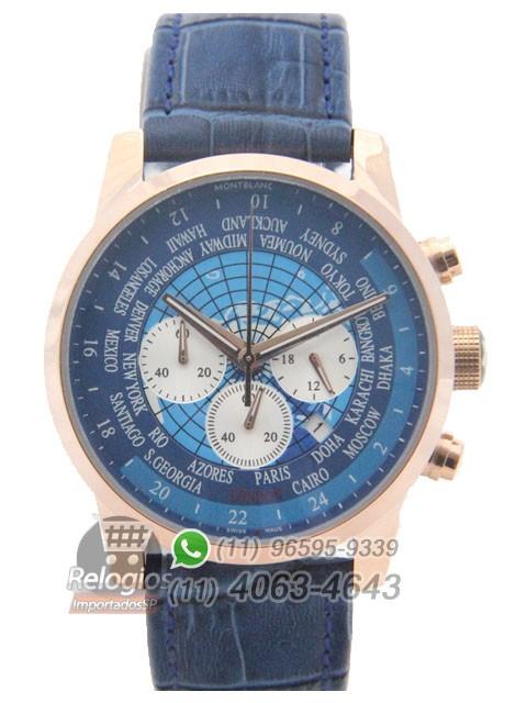 Relógio Réplica Montblanc Chronograph Mundy