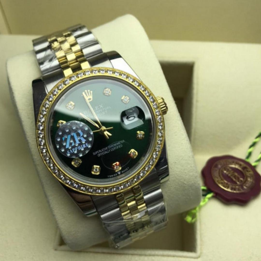 Relógio Réplica Rolex DayDate Pedra Jubilee
