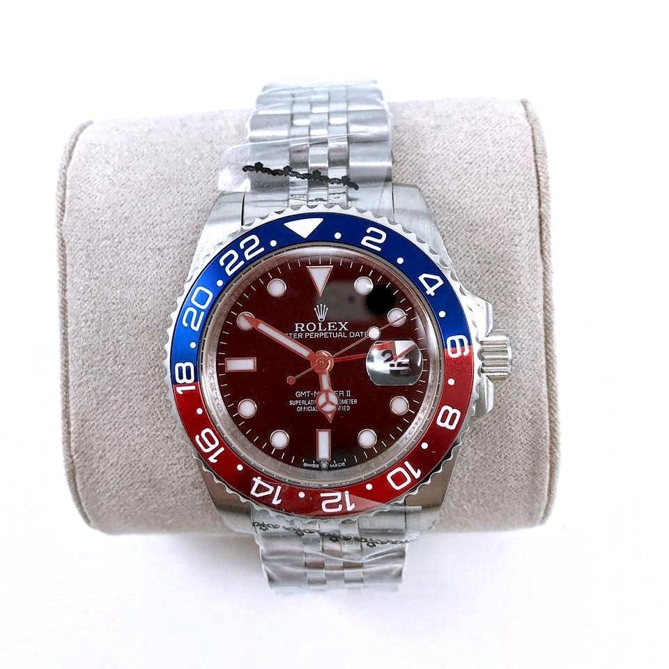 Relógio Réplica Rolex GMT Pulseira Jubilee