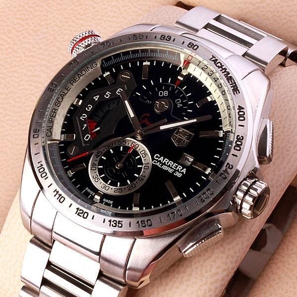 Relógio Réplica Tag Heuer Carrera Calibre 36Rs New