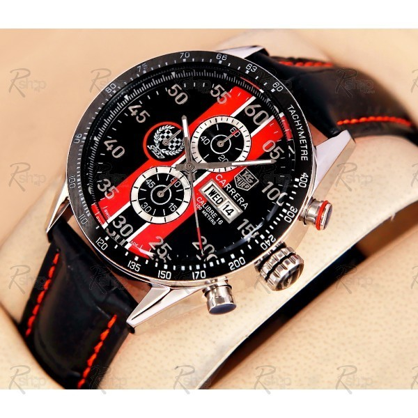 Relógio Réplica Tag Heuer Carrera Day Date Goodwood